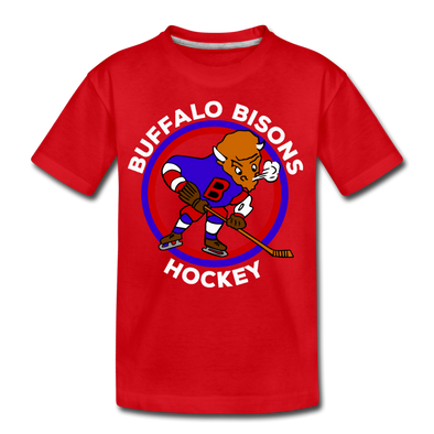Buffalo Bisons T-Shirt (Youth) - red