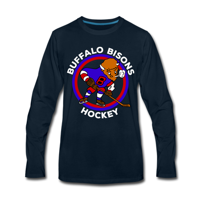 Buffalo Bisons Long Sleeve T-Shirt - deep navy