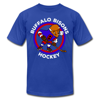 Buffalo Bisons T-Shirt (Premium Lightweight) - royal blue