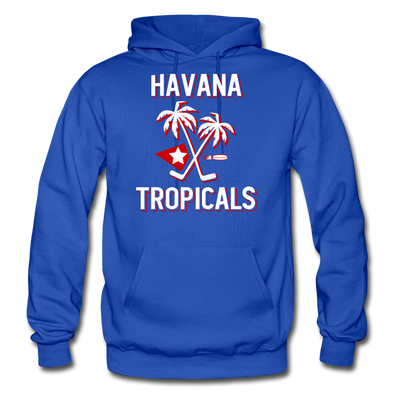 Havana Tropicals Hoodie - royal blue