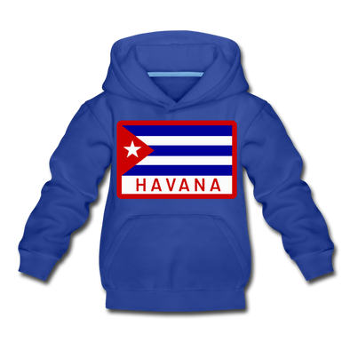 Havana Tropicals Logo Hoodie (Youth) - royal blue
