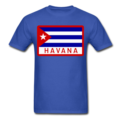 Havana Tropicals Logo T-Shirt - royal blue