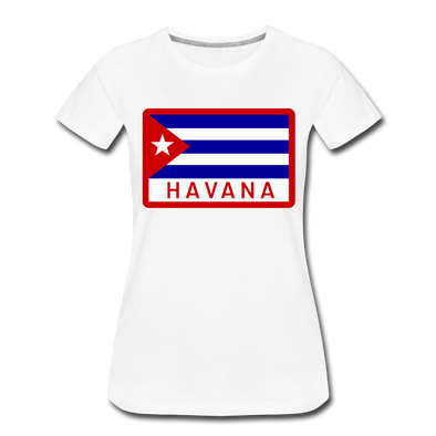 Havana Tropicals Women's T-Shirt - white