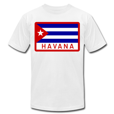 Havana Tropicals Logo T-Shirt (Premium Lightweight) - white