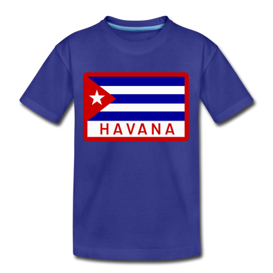 Havana Tropicals Logo T-Shirt (Youth) - royal blue