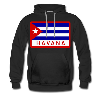 Havana Tropicals Double Sided Hoodie (Premium) - black