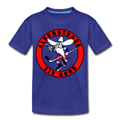 Albuquerque Six Guns T-Shirt (Youth) - royal blue