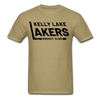Kelly Lake Lakers T-Shirt - khaki