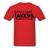 Kelly Lake Lakers T-Shirt - red