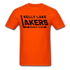Kelly Lake Lakers T-Shirt - orange
