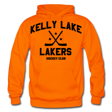 Kelly Lake Lakers Hoodie - orange