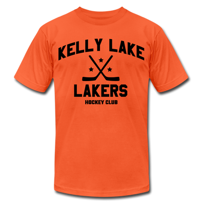 Kelly Lake Lakers T-Shirt (Premium Lightweight) - orange