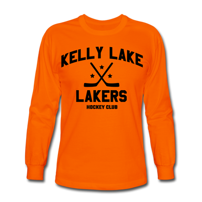 Kelly Lake Lakers Long Sleeve T-Shirt - orange