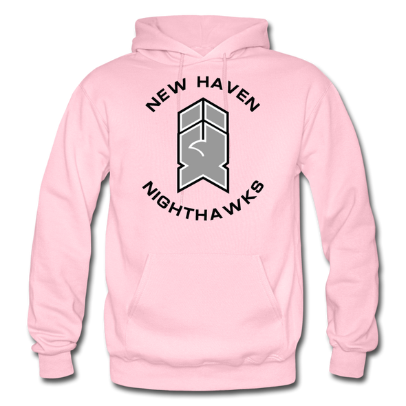 New Haven Nighthawks 1990s Hoodie - light pink