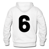 Kelly Lake Lakers Number 6 - white