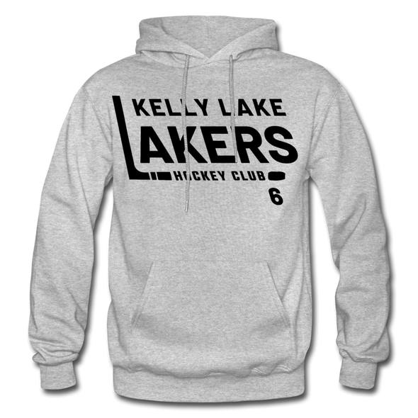 Kelly Lake Lakers Number 6 - heather gray