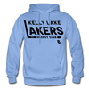 Kelly Lake Lakers Number 6 - carolina blue