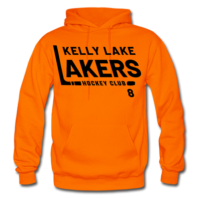 Kelly Lake Lakers Number 8 - orange