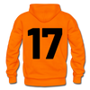 Kelly Lake Lakers Number 17 - orange