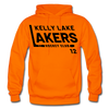 Kelly Lake Lakers Number 12 - orange