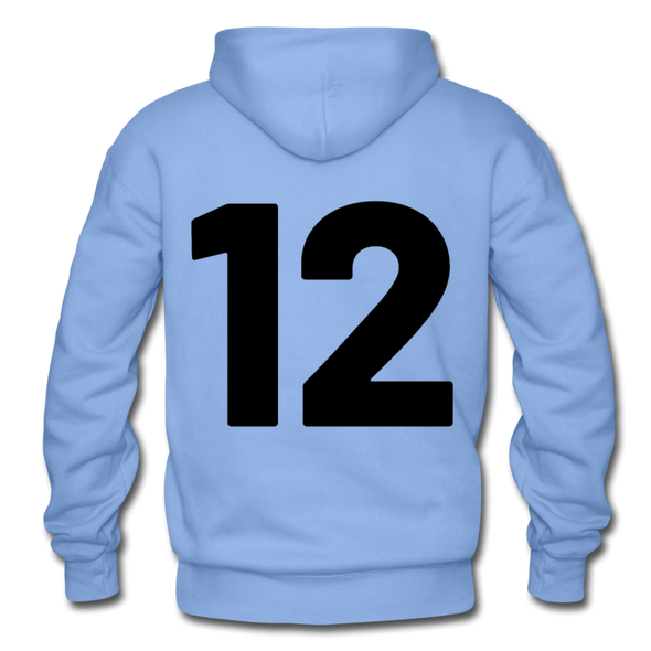 Kelly Lake Lakers Number 12 - carolina blue
