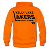 Kelly Lake Lakers Number 20 - orange