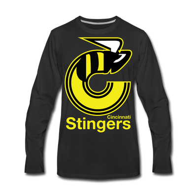 Cincinnati Stingers Long Sleeve T-Shirt - black