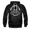 Marquette Pirates Dark Hoodie (Premium) - charcoal gray