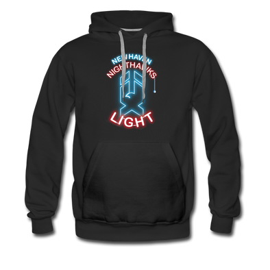 New Haven Nighthawks Light Hoodie (Premium) - black