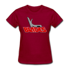 Kansas City Blades Women's T-Shirt - dark red