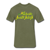 Nashville South Stars Text T-Shirt (Premium, tall) - heather military green