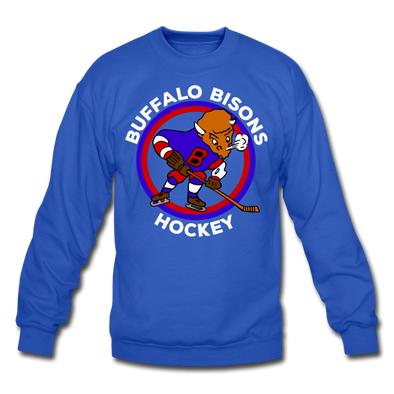 Buffalo Bisons Crewneck Sweatshirt - royal blue