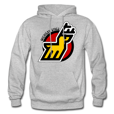 Michigan Stags Hoodie - heather gray