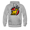 Michigan Stags Hoodie (Premium) - heather gray