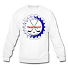 TPL Bottle Cap Crewneck Sweatshirt - white