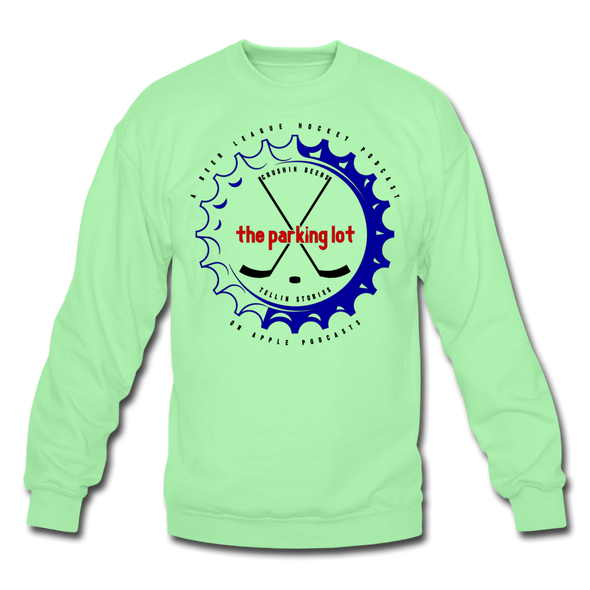 TPL Bottle Cap Crewneck Sweatshirt - lime
