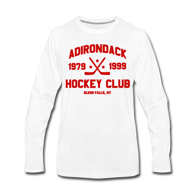 Adirondack Long Sleeve T-Shirt - white