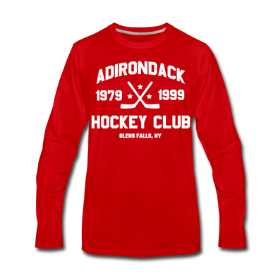 Adirondack Long Sleeve T-Shirt (Red) - red