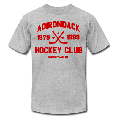 Adirondack Hockey Club T-Shirt (Premium) - heather gray