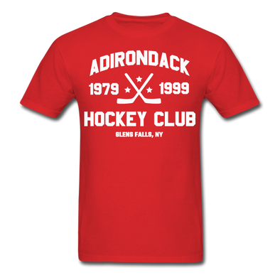 Adirondack Hockey Club T-Shirt (Red) - red