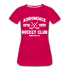 Adirondack Hockey Club Women's T-Shirt (Red) - dark pink