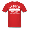 Cherry Hill Arena Old School Hockey T-Shirt - red