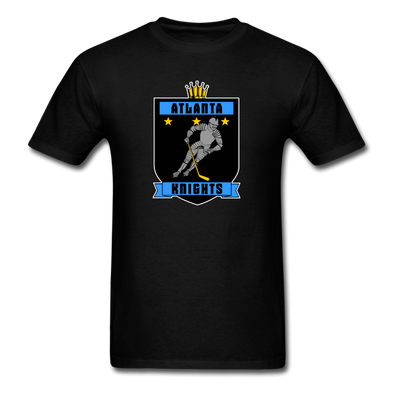 Atlanta Knights T-Shirt Smaller Design - black