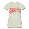 New York Americans Women's T-Shirt - heather oatmeal