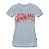 New York Americans Women's T-Shirt - heather ice blue