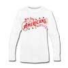 New York Americans Long Sleeve T-Shirt - white