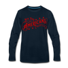 New York Americans Long Sleeve T-Shirt - deep navy