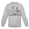 TPL Pigeon Crewneck Sweatshirt - heather gray