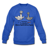 TPL Pigeon Crewneck Sweatshirt - royal blue