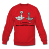 TPL Pigeon Crewneck Sweatshirt - red